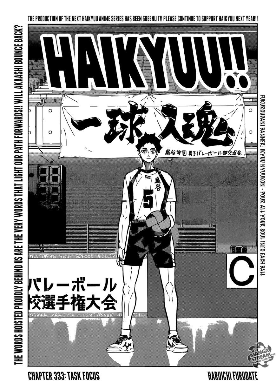 Haikyu!! 333 Page 1