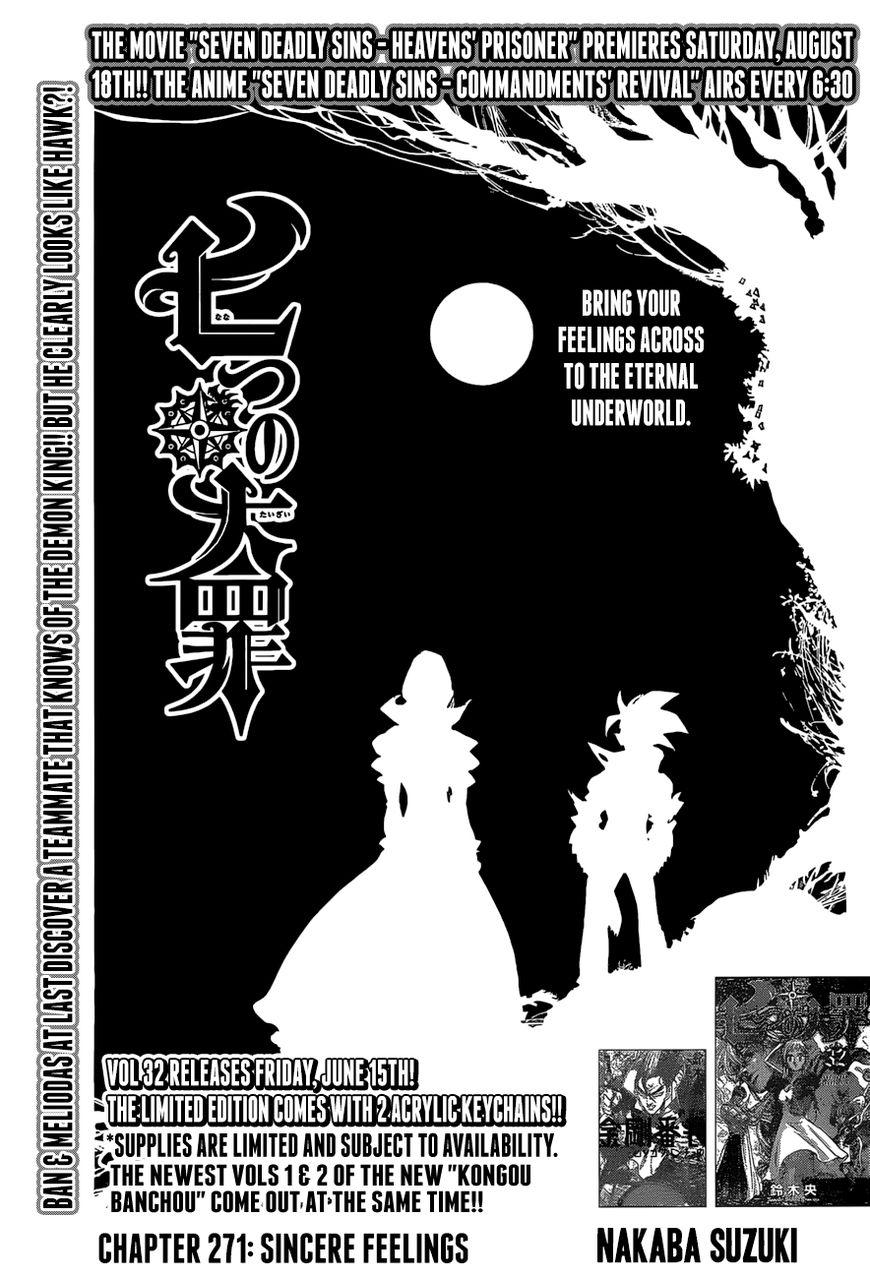 Nanatsu no Taizai 271 Page 1
