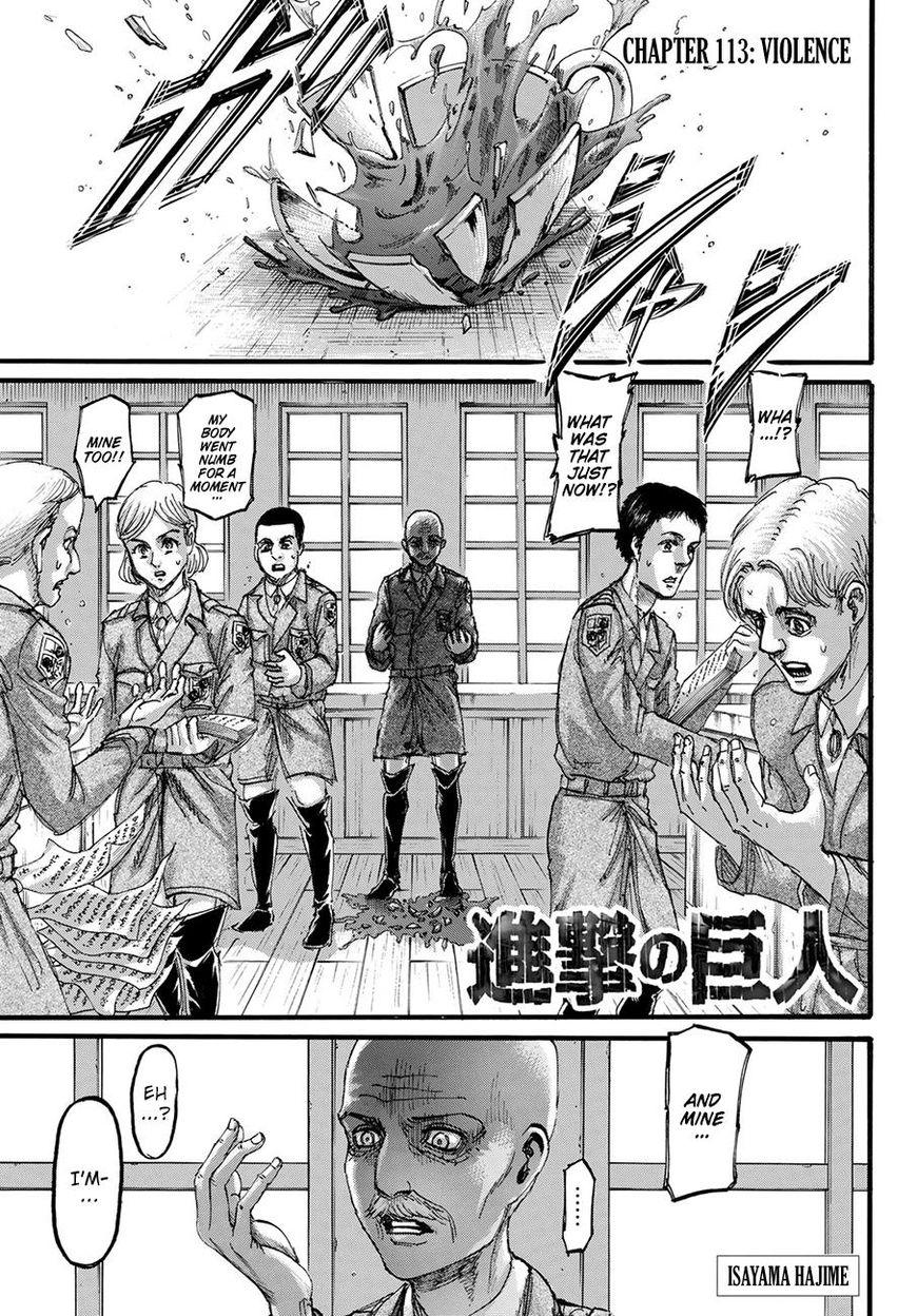 Shingeki no Kyojin 113 Page 1